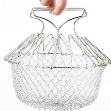 Multifunctional Fried basket stainless steel folding filter for cooking
