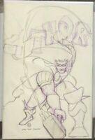 Thor #6 Peach Momoko Virgin Sketch Variant 337 Homage NM In Hand