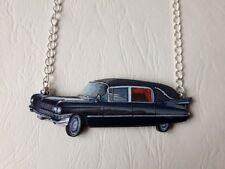 ♥ Collier corbillard voiture funèbre - goth rock handmade hearse necklace ♥