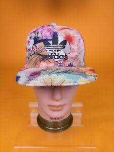Adidas Original Flowers edition Trucker Cap Women Hat super rare multicolor