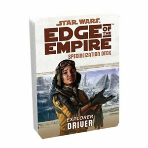 Star Wars RPG: Edge of the Empire - Driver Specialization Deck