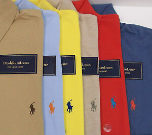 Polo Ralph Lauren Classic SS Mesh Polo Shirt  $79-89 Light Blue w/ Polo Pony NWT