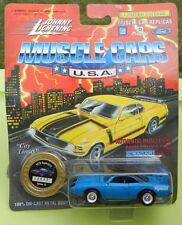 #10 PETTY BLUE PLYMOUTH SUPERBIRD ROADRUNNER 1995 1970 MOPAR JOHNNY LIGHTNING JL