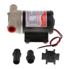24V Water Puppy Bilge / Sump Flexible Impeller Pump 8 GPM for Boats