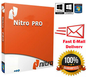 Nitro Pro 13 PDF Entreprise 2020 ✅ Lifetime Activated ✅ Fast Delivery ✅