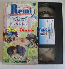 film VHS cartone REMI  NR. 17  - 2  EPISODI - DE AGOSTINI 2004 (F9)  no dvd
