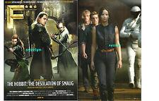 F* Magazine The Hobbit Desolation of Smaug Jennifer Lawrence Orlando Bloom