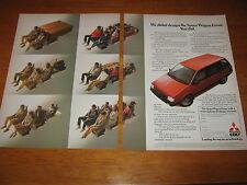 Mitsubishi Colt Space Wagon Estate advert