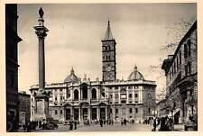 Italy Roma Basilica di Santa Maria Maggiore Basilique Auto Cars Statue