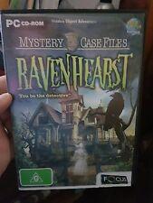 Ravenhearst -  PC GAME - FREE POST *