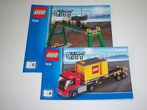 Lego Eisenbahn, Verladekran, LKW, Komplett, OBA, 7939**