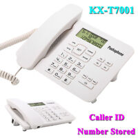 Corded Phone Speakerphone Desktop Telephone Caller ID Call Answer Home Office SS