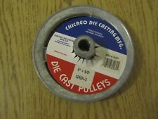 "G926 Chicago Die Casting 600-A 5/8"" Single V Groove Pulley 6"" x ¾"" Brand New"