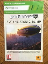 Grand Theft Auto Atomic Blimp DLC Only (No Game) - Xbox 360 UK Release Valid!