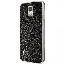 SWAROVSKI for SAMSUNG Galaxy S5 Crystal Battery Cover Mystic Black Sparkle NEWFB