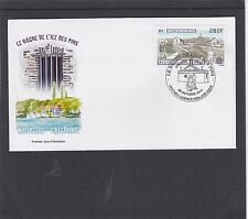 New Caledonia 2014 Isle of Pines Prison First Day Cover FDC Noumea pictorial h/s