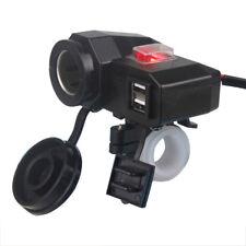 USB Charger Cigarette Lighter For Honda VTX  1300 1800 TYPE C R S N F T RETRO