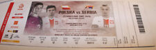 Ticket for collectors * Poland - Serbia 2016 Poznan