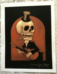 SIGNED By STANLEY MOUSE 'BOSS MAN' FINE ART COLOR PROOF 17 x 22