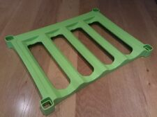 Wine rack shelf (lime green)