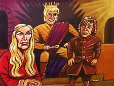 GAME OF THRONES PAINTING hbo series fantasy peter dinklage george r. r. martin