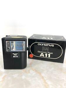 New In Box Olympus A11 Electronic Flash for XA XA2 XA3 XA4 Box From Japan