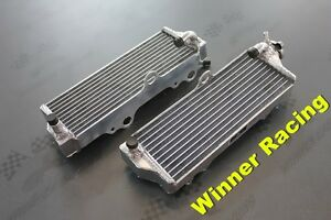 L&R aluminum alloy radiator Husqvarna CR250/WR250 CR/WR 250 2000-2010 LEFT+RIGHT