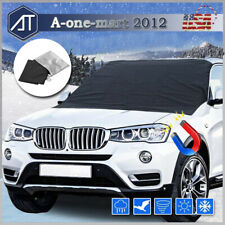 Car Truck Windshield Snow Cover Ice Frost Tarp Flap Sun Shade Protector Winter
