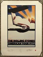 Rolling Stones American Tour 1972 Poster Art Print Mondo Lithograph Mick Jagger