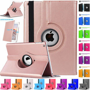 For Apple iPad 4th 3rd 2nd Generation Leather Rotating Smart Stand Case Cover