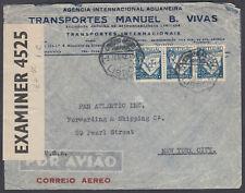 Portugal, Lisbon Airmail / Censor to New York, USA; 1942