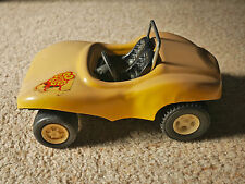 """* 1970s large 6.5"""" Tonka Fun Buggy Beach * Love and Toronto labels * beige sand"""