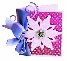 Sizzix Bigz Snowflake #2 die #656298 MSRP $19.99 Retired, Cuts Fabric, LOVELY!!!