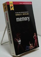 Memory by Donald E Westlake - First edition - Hard Case Crime #64