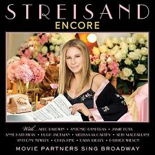 MINT CONDITION! BARBARA STREISAND ENCORE: MOVIE PARTNERS SING BROADWAY CD
