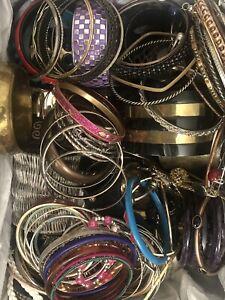 Huge Bracelet Lot - 10 Lbs - Resell Repurpose Wear Crafts - Bracelets Only
