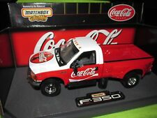 Matchbox COKE COCACOLA  Advertisement 1999 Ford F-350  Diecast Truck damaged box