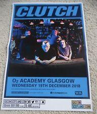 Clutch - dec 2018 UK live band music show memorabilia concert gig tour poster