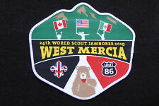 24th World Scout Jamboree 2019 Unit 86 West Mercia Badge