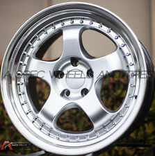 1PC 18X9.5 +12 VARRSTOEN ES6 5X114.3 HYPER SILVER 5X4.5 ( 1 WHEEL REPLACEMENT )