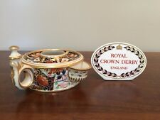 Early 19th Century Royal Crown Derby IMARI Drum Ink Well