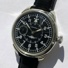 Rare Big Military DOXA Swiss Wristwatch Aviator Pilots WW2