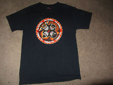 VINTAGE Pig Skateboard Wheels Tum yeto Shirt Small Kiss Rock And Roll Over