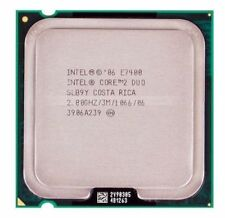 Intel Core 2 Duo 2.8 Ghz, 3M cache (E7400)