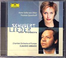 Anne Sofie von OTTER & Thomas QUASTHOFF: SCHUBERT Orchestra Lieder DG ABBADO
