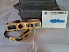 17. VINTAGE MINOLTA WEATHERMATIC-A CAMERA, MADE 1984 , #1969928, PREOWNED
