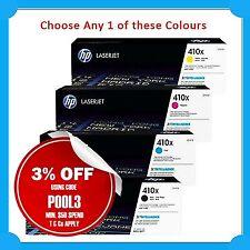Any 1x HP Genuine #410X CF410X/CF411X/CF412X/CF413X>M477/M477fdw/M477fnw/M452dw