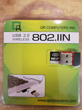 New USB WiFi Adapter Wireless Internet Dongle PC or MAC 150Mbps 802.11n