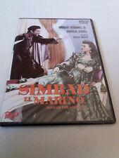 "DVD ""SIMBAD EL MARINO"" PRECINTADO SEALED CAJA SLIM RICHARD WALLACE DOUGLAS FAIRB"
