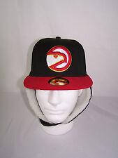 Atlanta Hawks New Era 59FIFTY Fitted Hat Cap 7 w/ Ear Flaps NBA